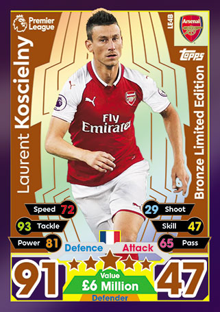 Match Attax 17/18