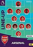 Arsenal Line Up
