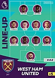 West Ham Line Up
