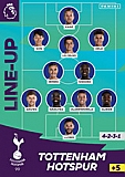 Tottenham Line Up