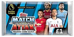 Packs of Cards Match Attax 18/19