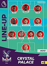 Crystal Palace Line Up